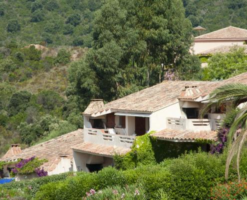 Construction d'une résidence à Santa Giulia