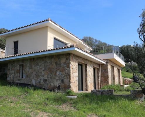 Construction de villas à Porto-Vecchio - Finitions