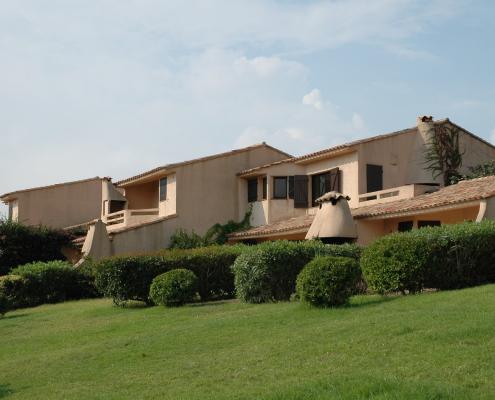 Construction de villa pour locatifs estival à Porto-Vecchio